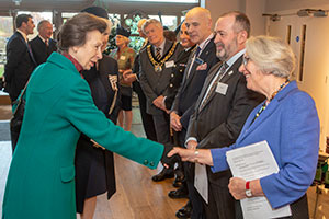 Her Royal Highness The Princess Royal visits Essex to mark fundraising drive for specialist autism service