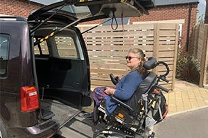 Doctor Catherine Wight driving mobility forward