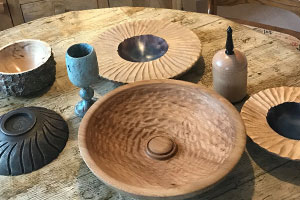 Chris Fisher took up woodturning after going blind