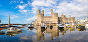 Caernarfon Castle - Accessible attractions to visit across the UK