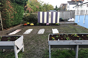 garden Transformation carried out by volunteers