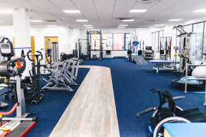neurokinex gatwick gymn neurokinex on treadmill chosen as the first international NeuroRecovery Community Fitness and Wellness Affiliate of the Christopher & Dana Reeve Foundation