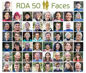 RDA 50 Faces Campaign
