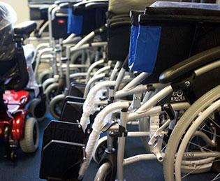 AJM Healthcare fix wheelchairs like these