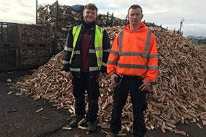 Joe & James from local mental health charity