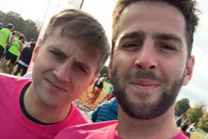 Tobi and Oscar are training for a marathon in memory of mum
