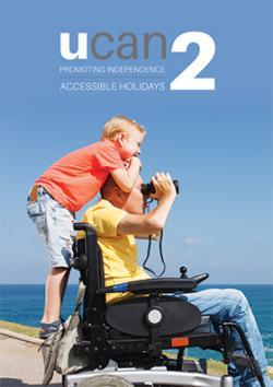 UCAN2 Accessible Holidays Guide front cover